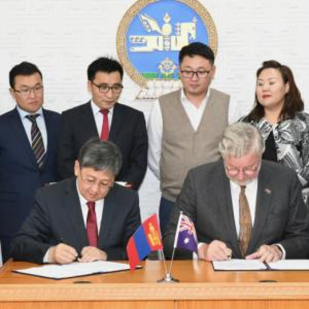 Mongolians to study in Australia